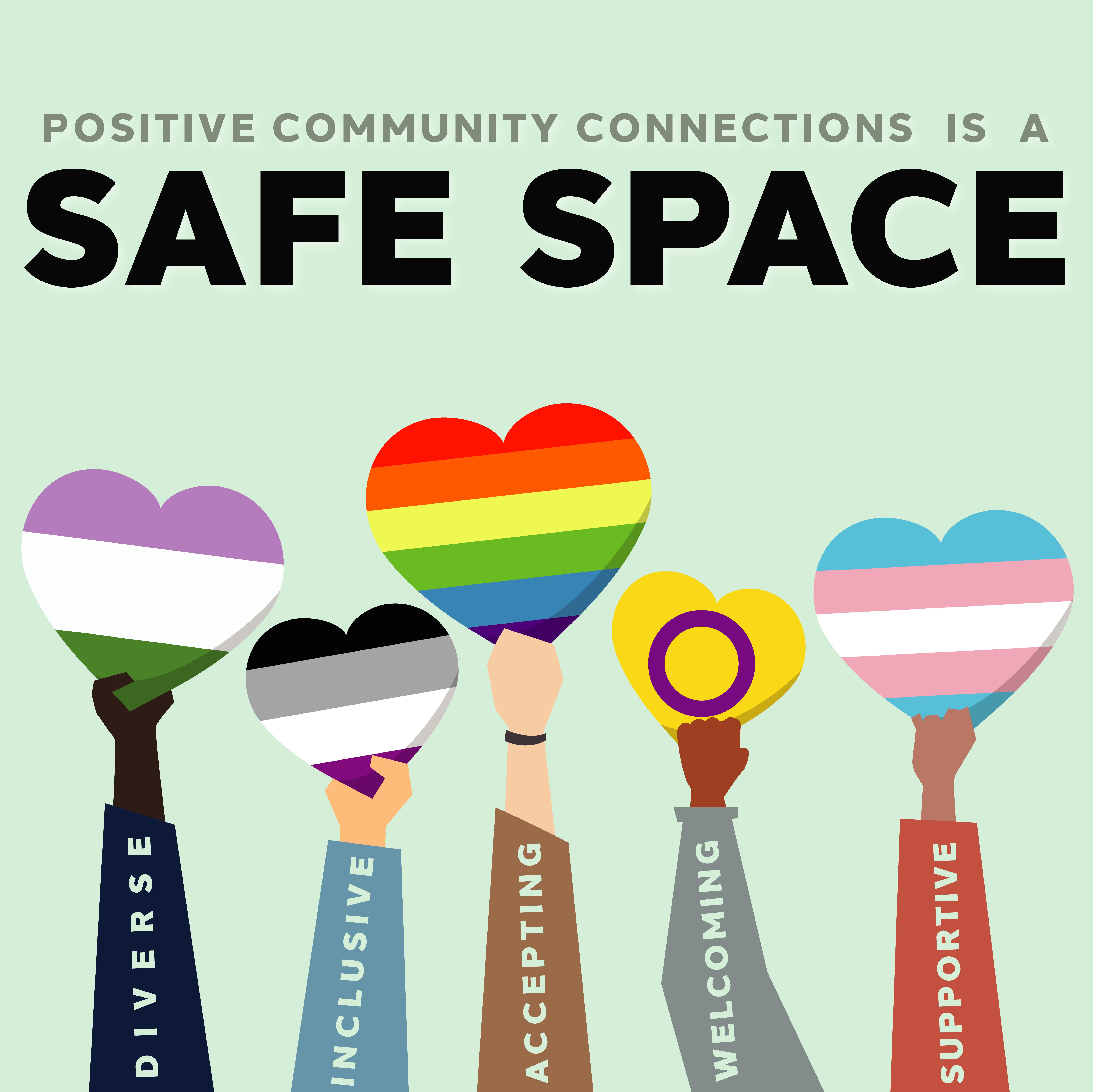 PCC Safe Space Logo